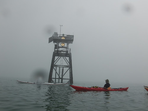 Foggy day in the Gulf of Mexico